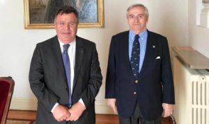Don José Ignacio Martin Benito y don Jaime Salzar y Acha